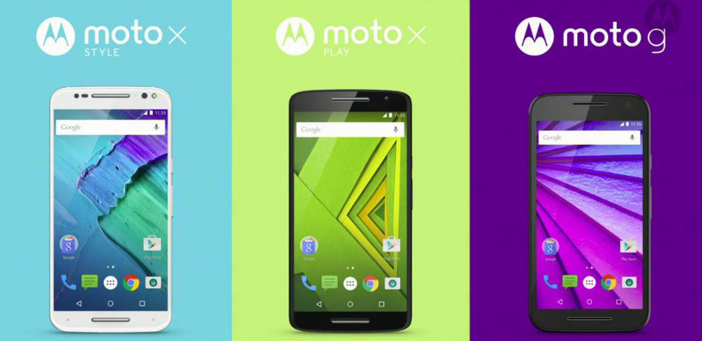 Moto 发布 3 款新机型:Moto X Style、Moto X Play 和 Moto G| 极客早知道 2015 年 7 月 29 日