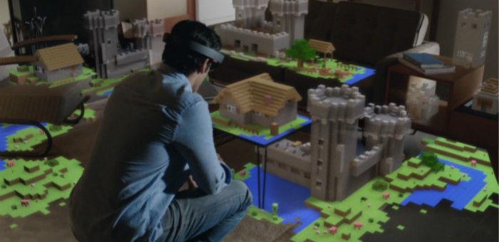 微软黑科技 HoloLens 试用体验:虚拟现实交汇的奇妙体验