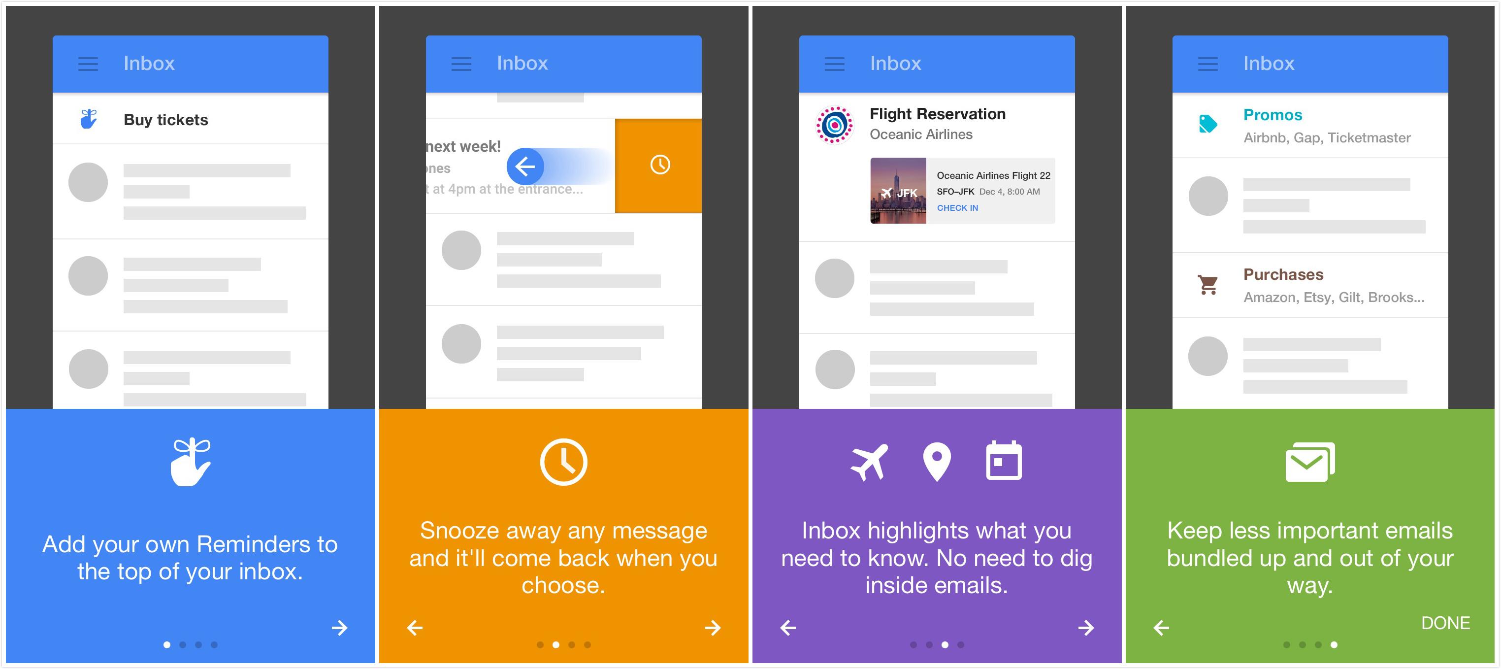 Inbox上手体验:一个完全Google基因的邮件客户端