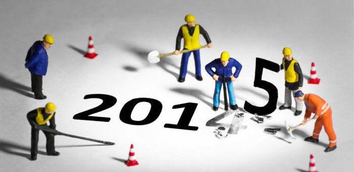 年底了,有关 2015 年的数据预测都是怎么得来的