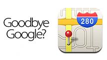 为什么 iOS 6 将放弃 Google 地图?