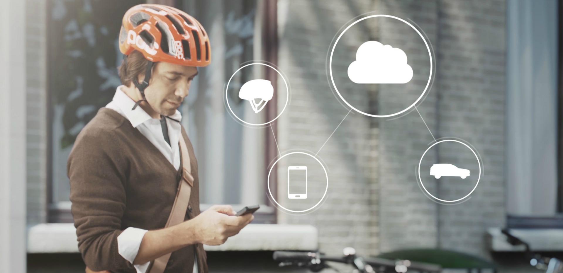 为骑车者保驾护航:沃尔沃智能头盔
