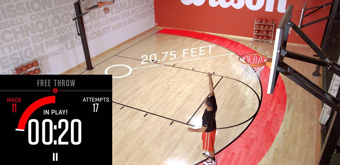 能统计命中率的篮球:终于有证据吐槽猪队友了