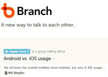 Branch 是 BBS 的未来么?