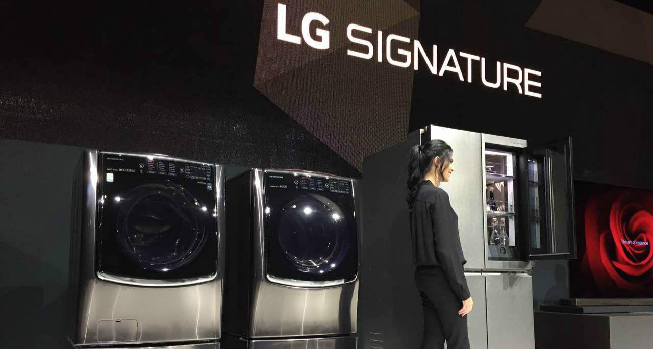 LG 在一大早就秀了他们的高端产品