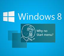 "Windows 8""开始菜单/按钮""中的商机"