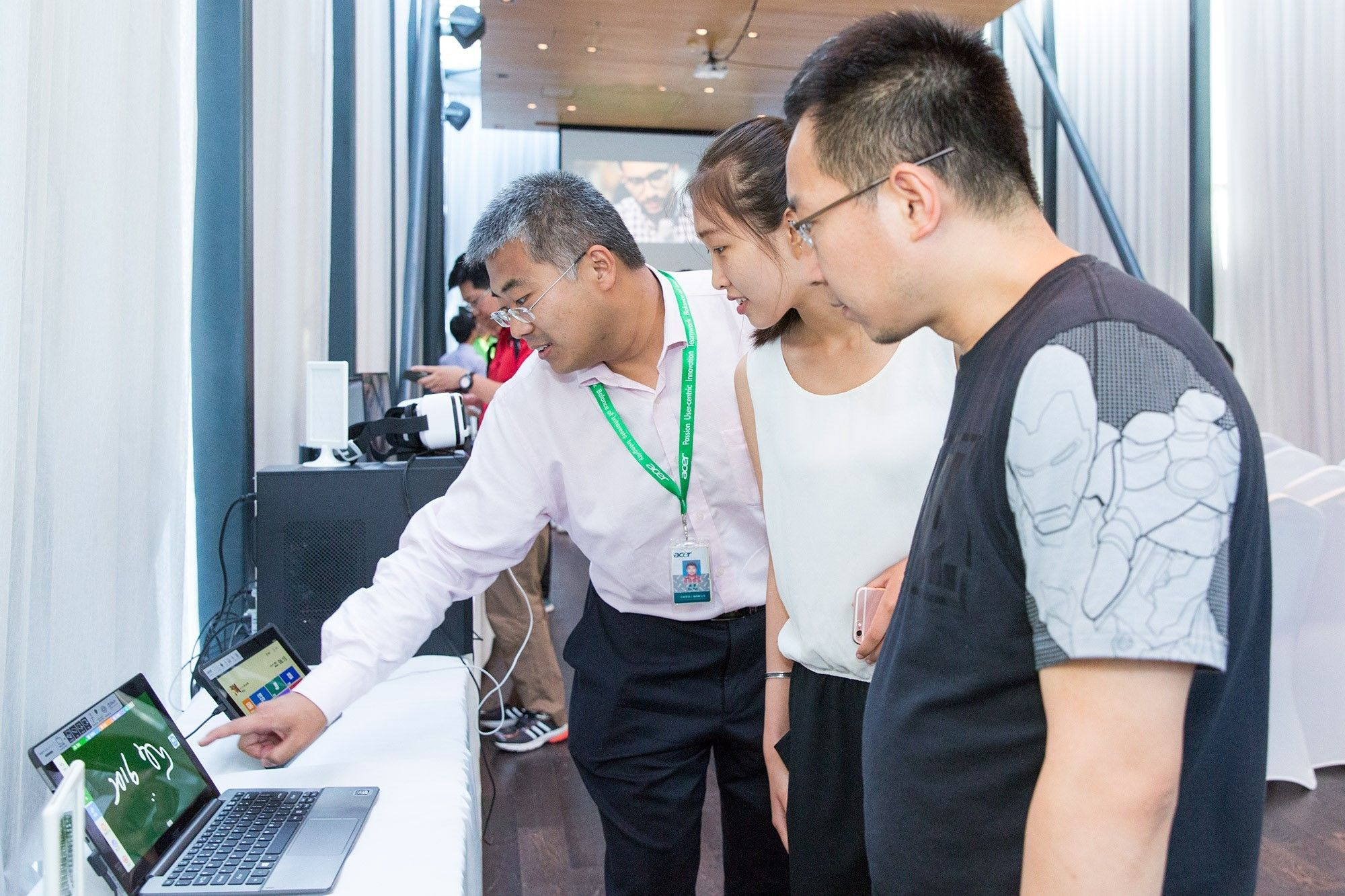 不止于 PC,Acer 展示 2016 年全系新品