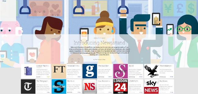 Play Newsstand:Google的一站式新闻阅读服务