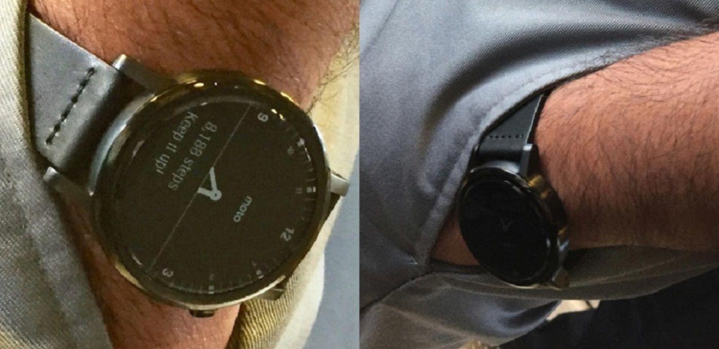 疑似第二代 Moto 360 的照片曝光 | 极客早知道2015年8月24日