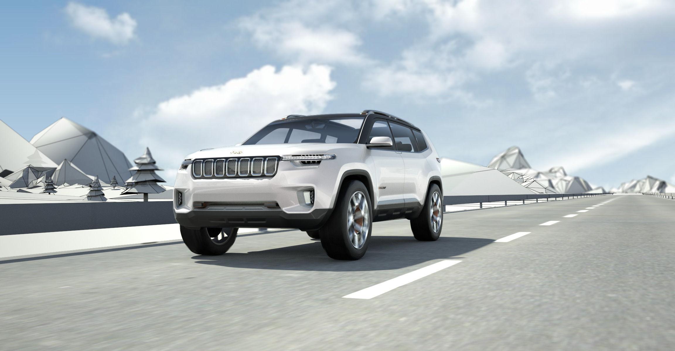 探索未来 SUV 可能性,第一款合资公司打造的概念车「Jeep 云图」给你你答案