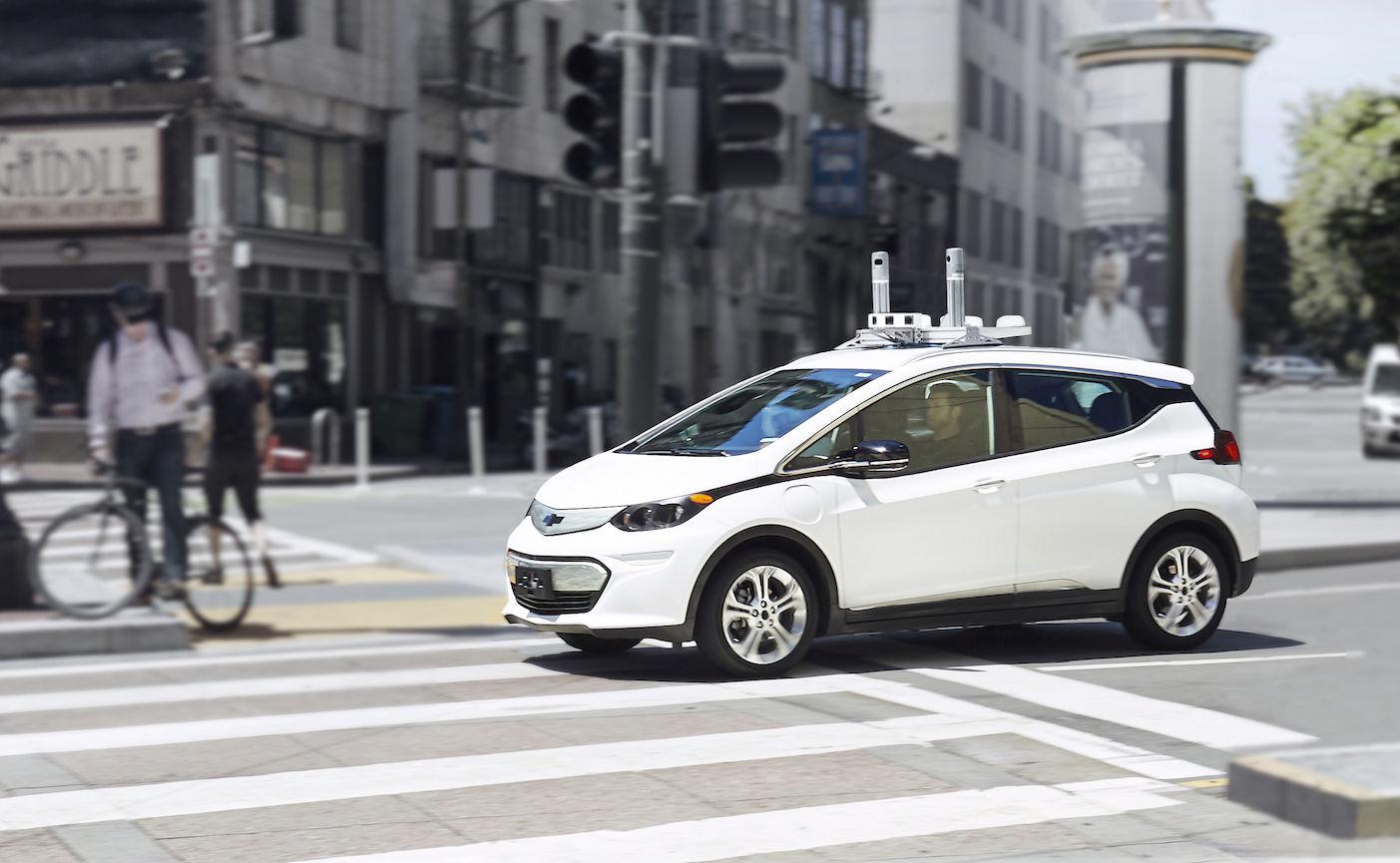这个无人车路测视频的背后是通用汽车 6 亿美金的巨额收购
