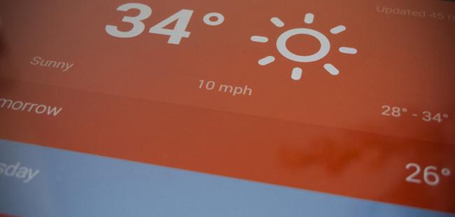 另类精致的天气应用——Hue