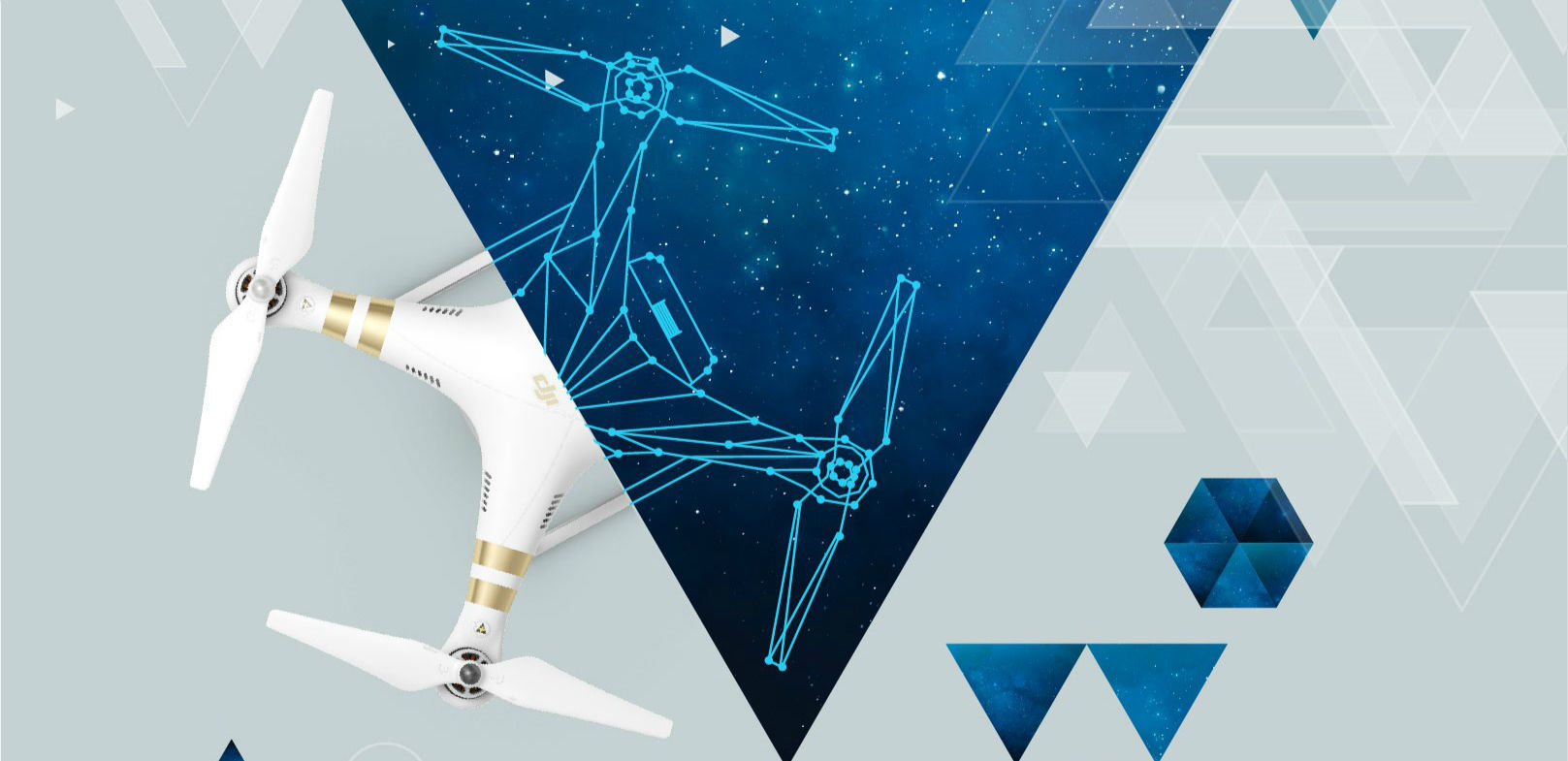 一个团队,一架无人机,一个云台,你能琢磨出什么?