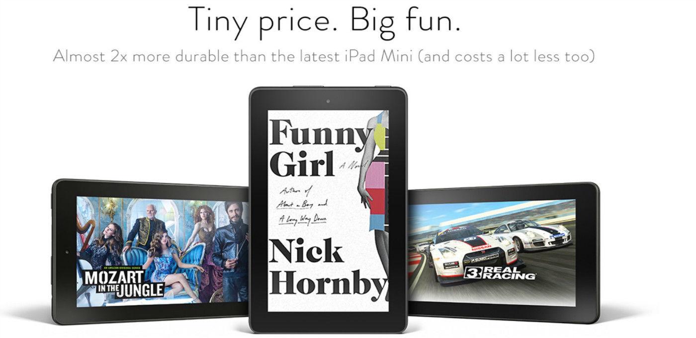 除了「寨板」,三百块你还能买一台亚马逊的 Kindle Fire