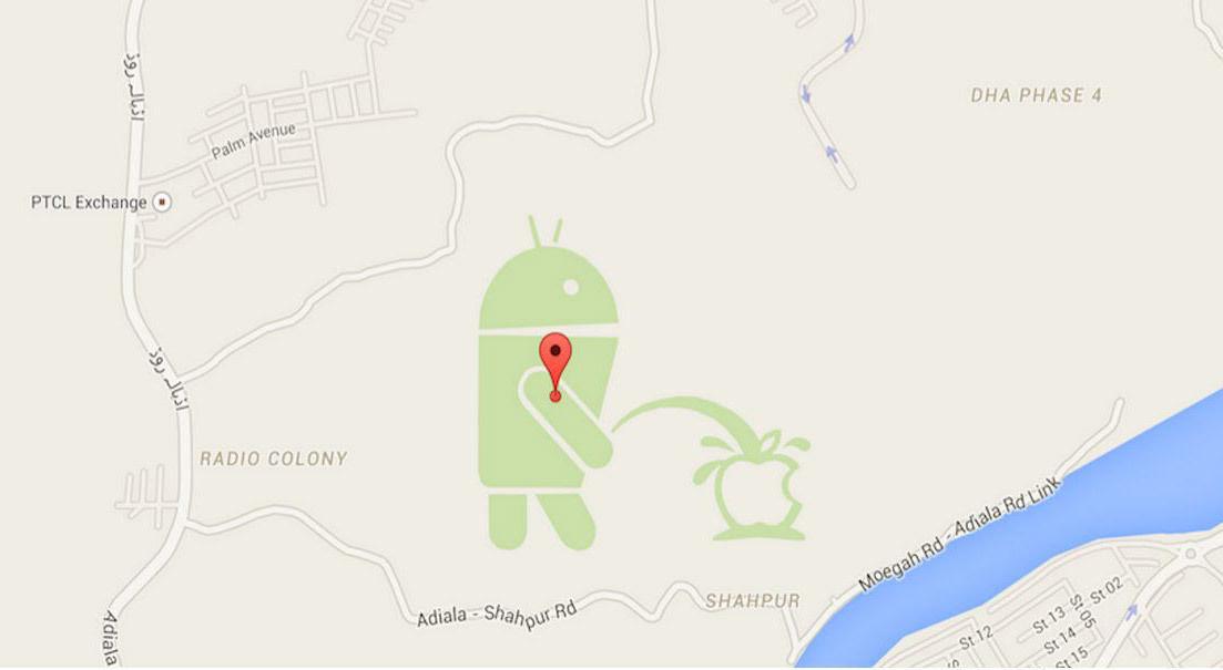 不堪恶搞,谷歌关闭用户自制地图服务 Map Maker | 极客早知道 2015 年 5 月 12 日