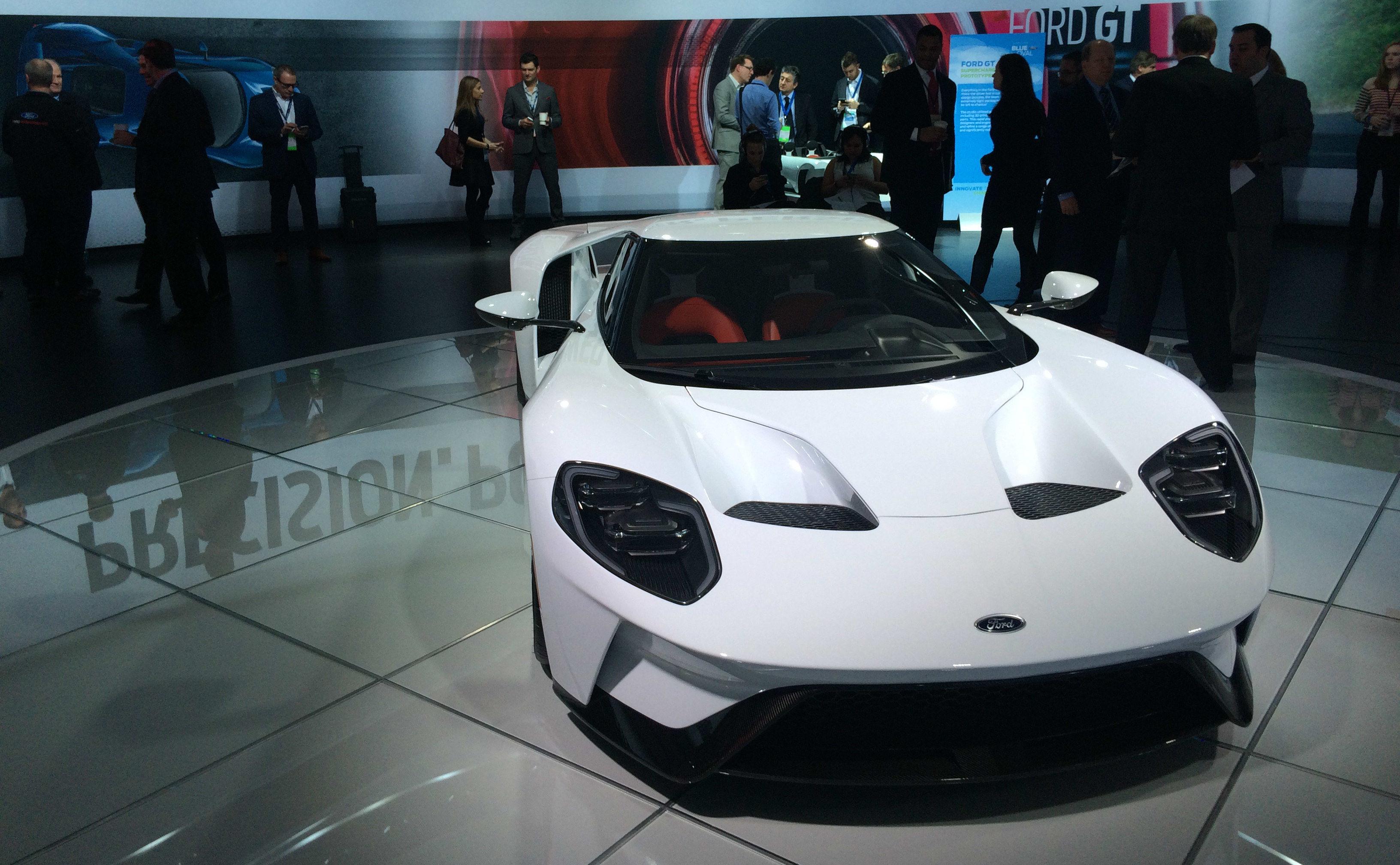 【极客现场】去了趟北美车展,发现福特的大皮卡比小车还好开。