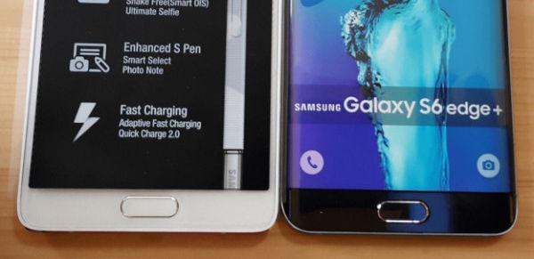 Galaxy Note 5 和 Galaxy S6 Edge Plus 真机照曝光| 极客早知道 2015 年 7 月 20 日