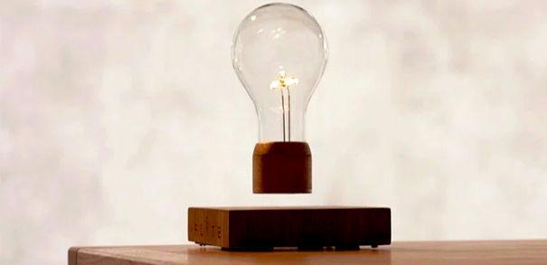 无线悬浮灯泡Flyte:让特斯拉与爱迪生成为朋友