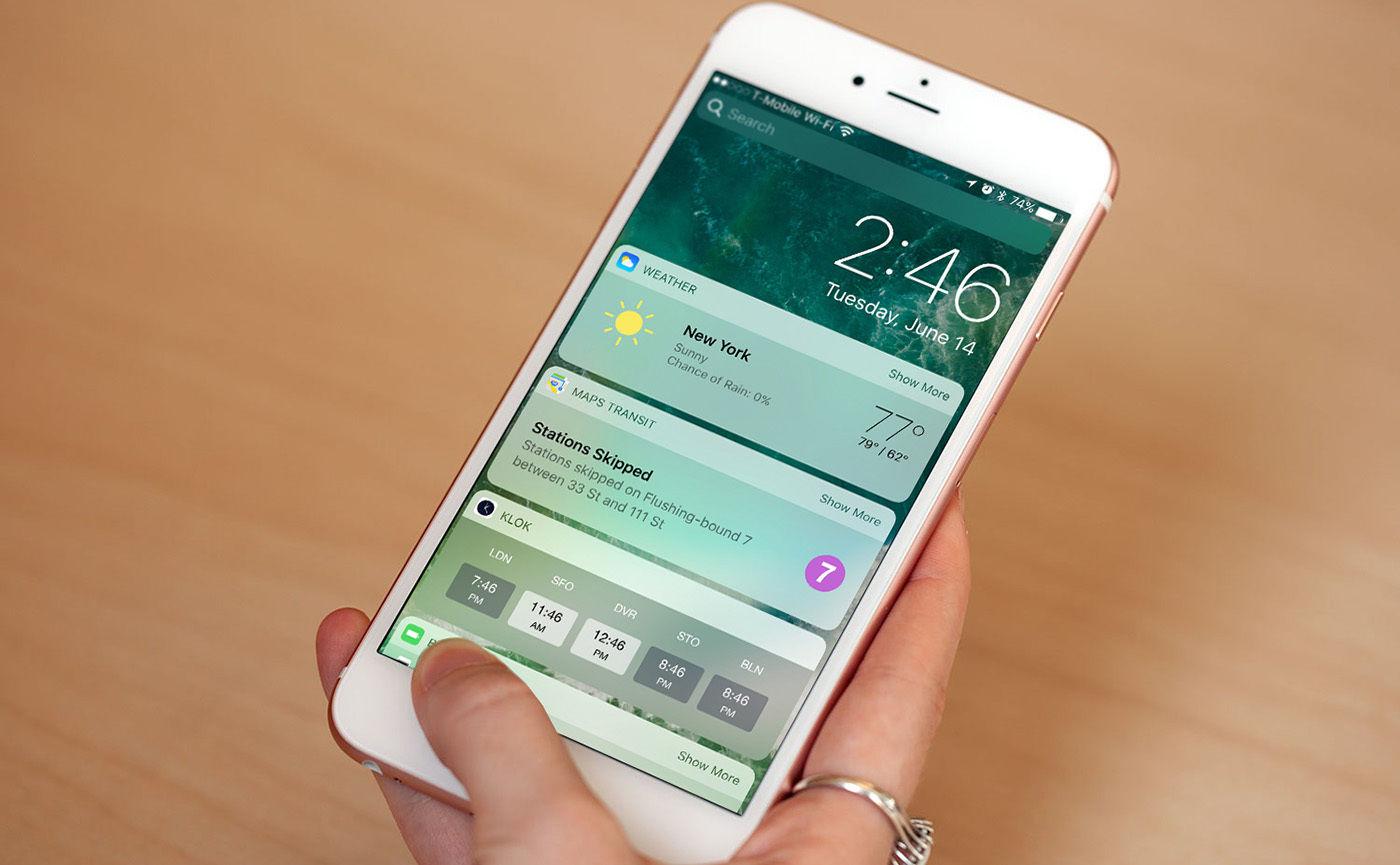 iOS 10 正式推送,10 项新特性早更新早享受   极客早知道 2016 年 9 月 14 日