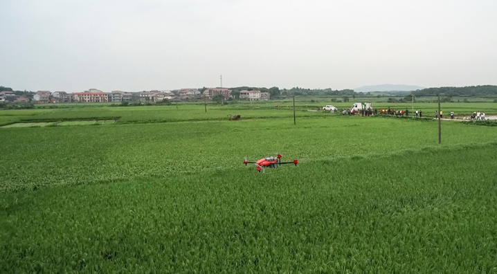 用支付宝一键呼叫无人机,农民伯伯的第一次 O2O 服务