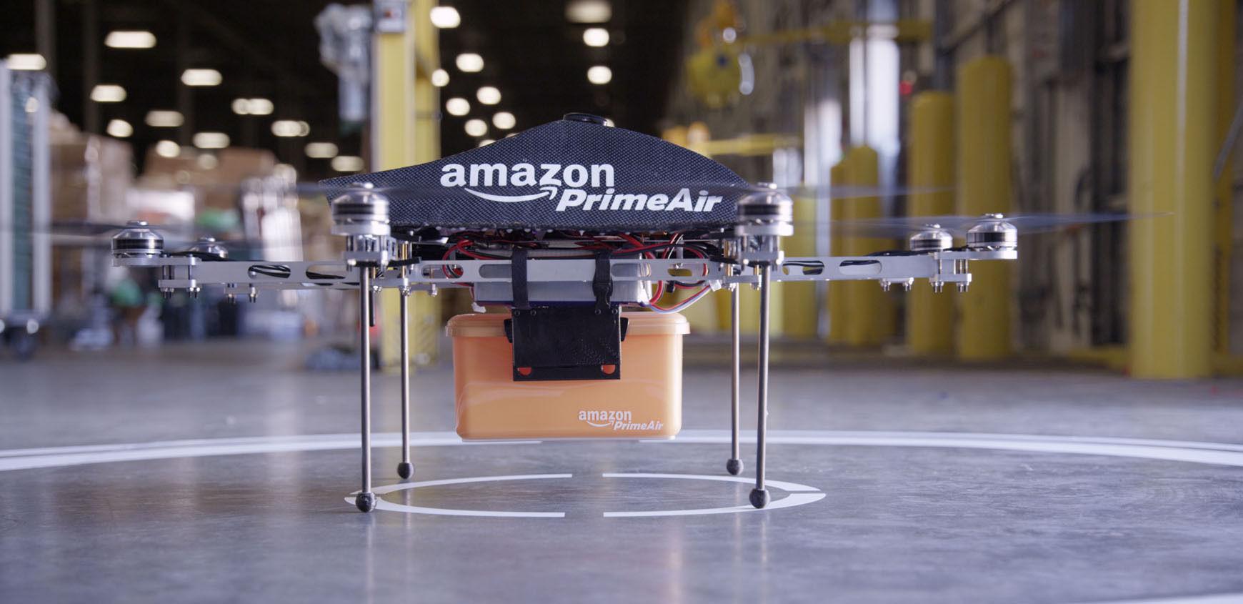 亚马逊无人机快递测试获美监管机构批准| 极客早知道 2015 年 3 月 20 日