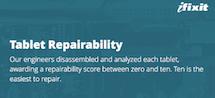 iFixit 发布平板易维修性排行榜:戴尔产品最良心,微软苹果最难拆