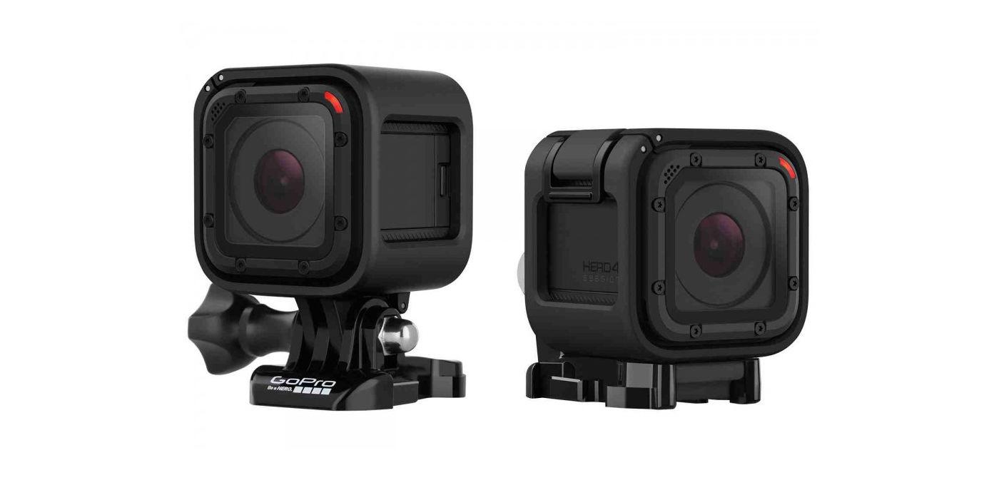 全新造型,GoPro 发布入门版机型 Hero4 Session| 极客早知道 2015 年 7 月 7 日