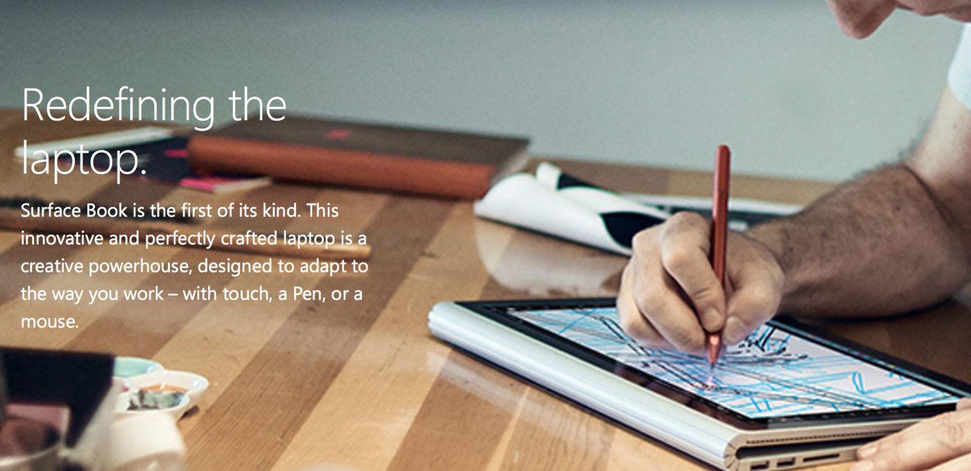关于 Surface Book 你应该知道的几个细节
