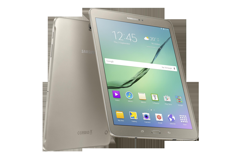 三星发布最薄的安卓平板 Galaxy Tab S2