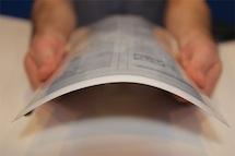 PaperTab:可弯曲的纸质平板