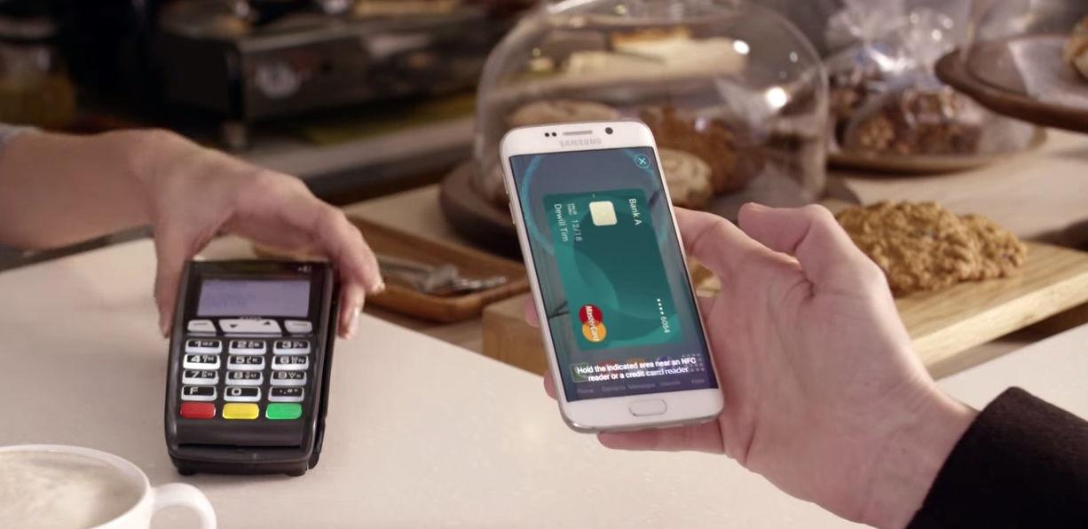 三星发布 Samsung Pay | 极客早知道 2015 年 8 月 14 日