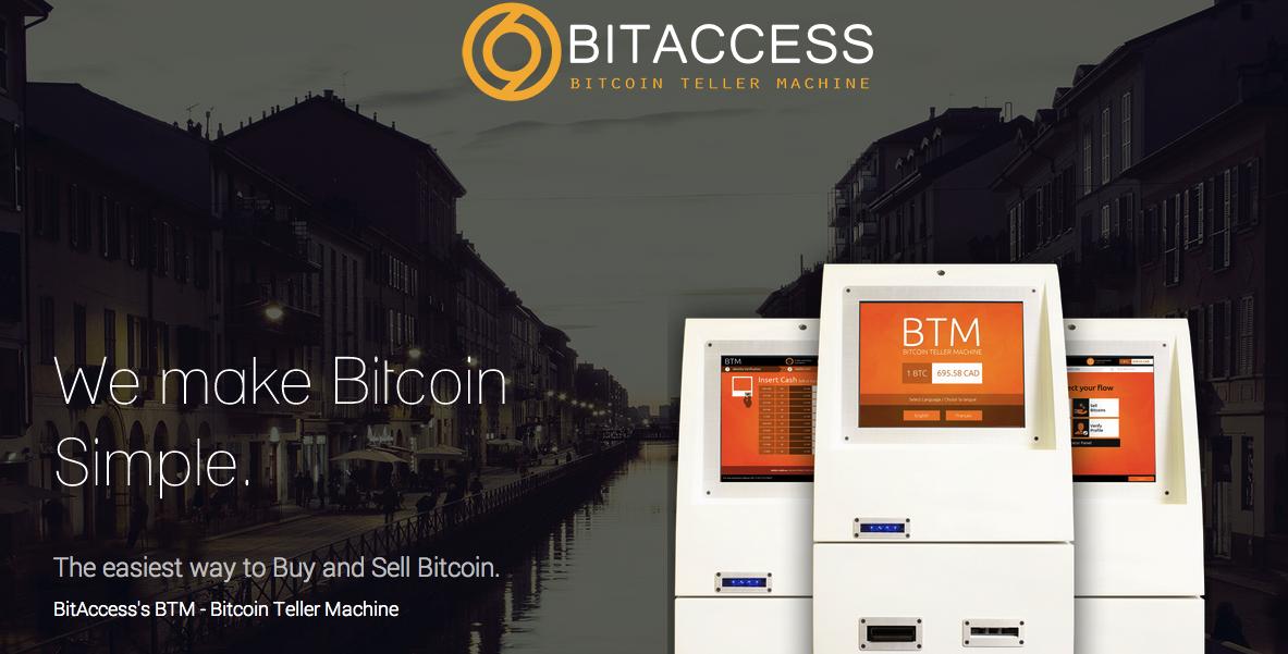 BitAccess: 比特币世界的 ATM 机