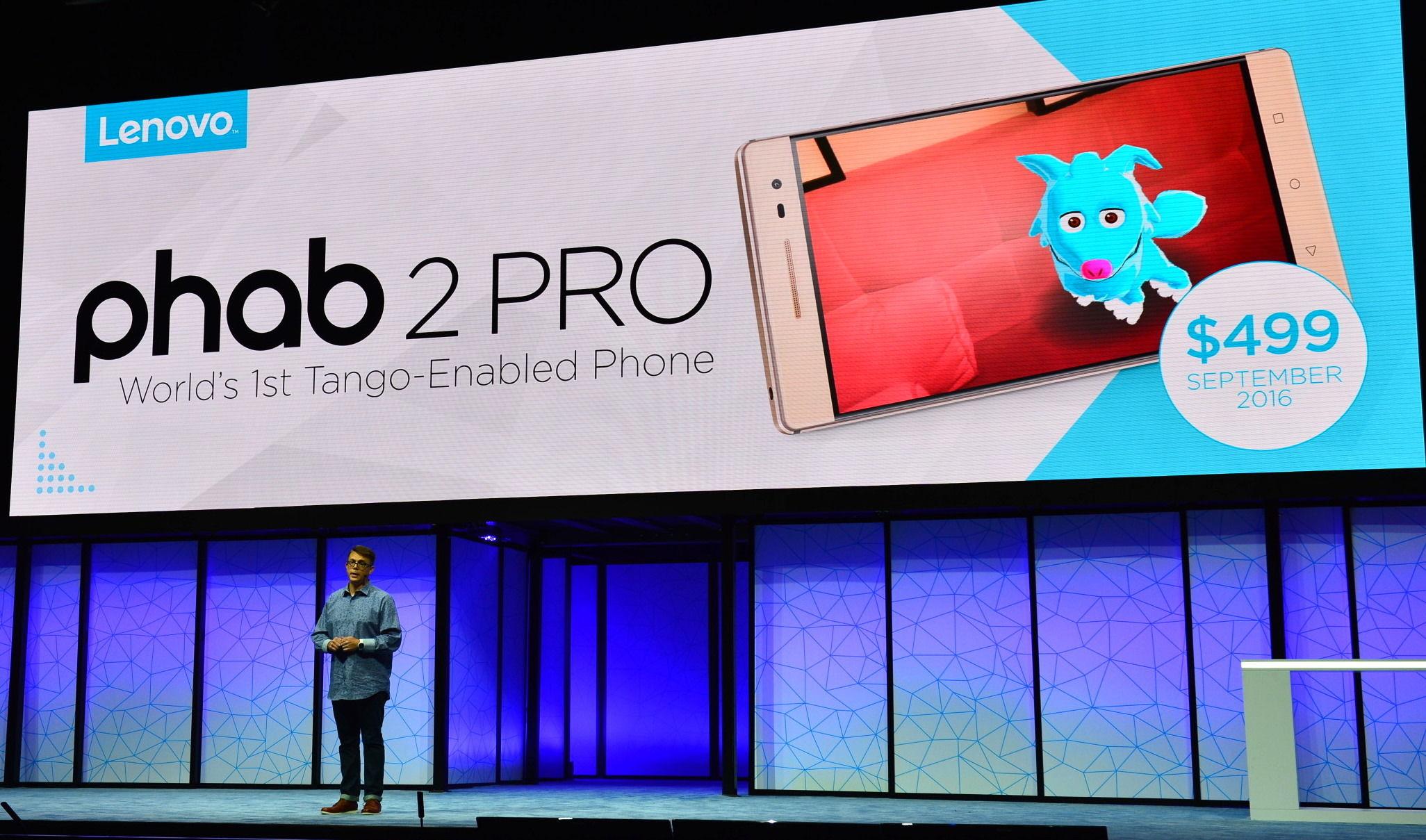 借助联想的新款手机,谷歌 Project Tango 终于顺利「毕业」了