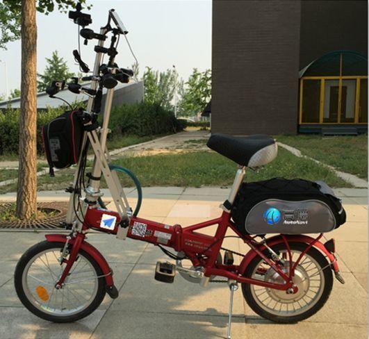 高德发布国内首个自行车采集系统 完善地图数据采集平台