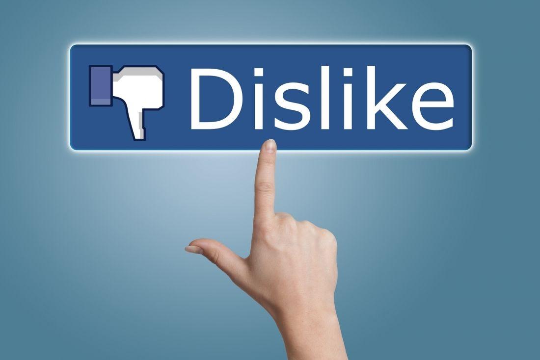 Facebook 开始在 Messenger 中测试「Dislike」,以后可以疯狂「踩踩踩」了?
