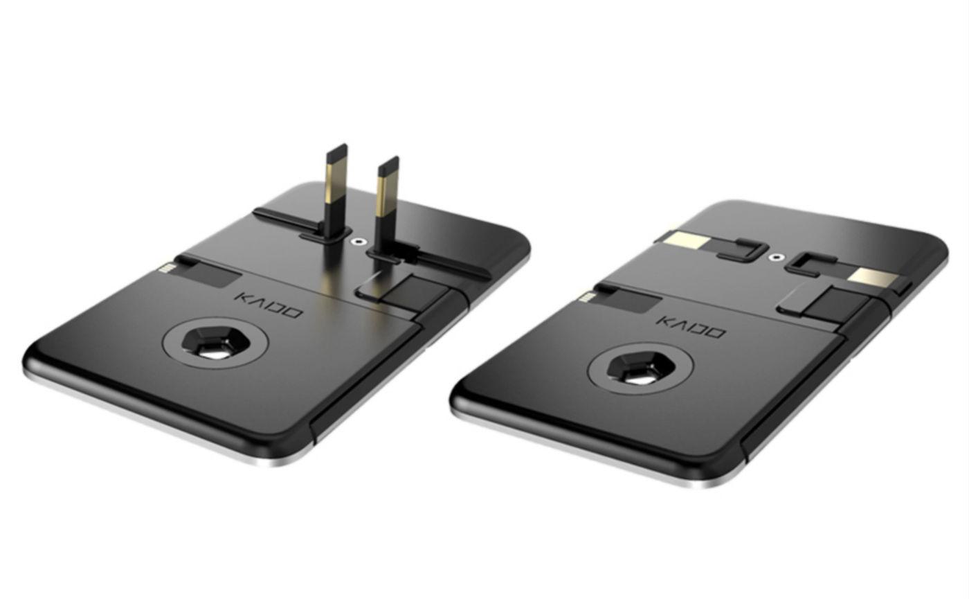 世界上最薄的充电头,只有 5 毫米厚,可以轻松塞进钱包