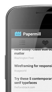 Papermill - 什么是一款好的 Android Instapaper 应用