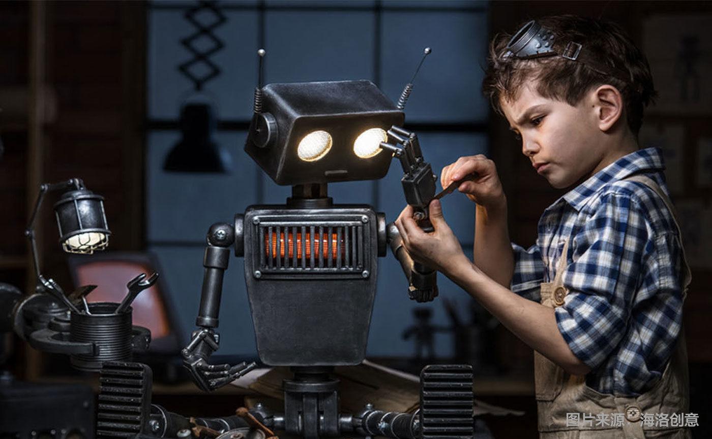 代码不是机器人的全部,有些事得让它们自己学